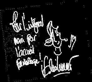 Signature Livre d'or