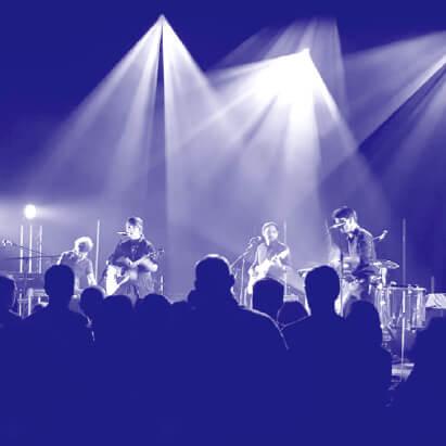 Image d'un concert à la salle L'Intégral
