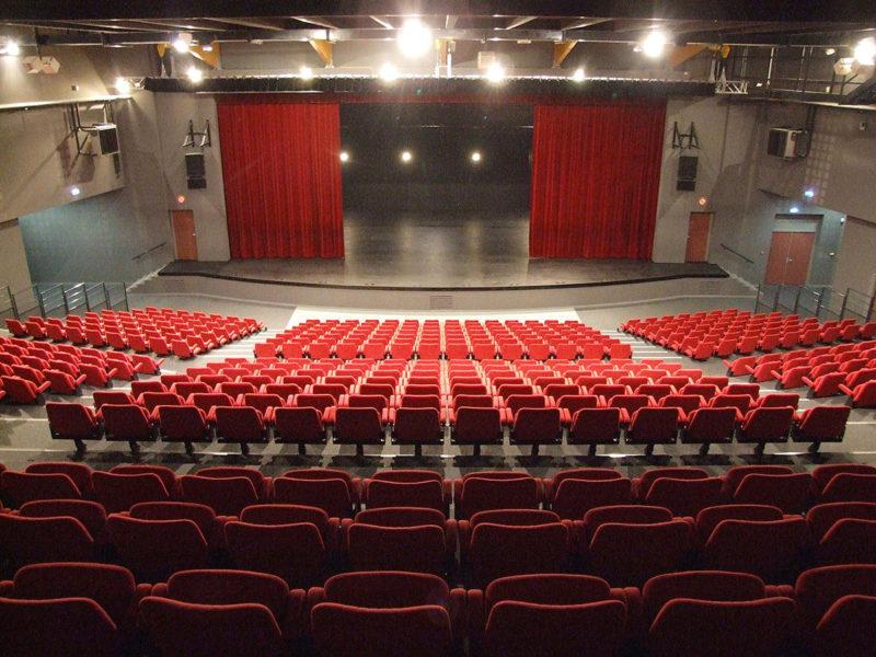 Photo de la grande salle de spectacle de L'intégral